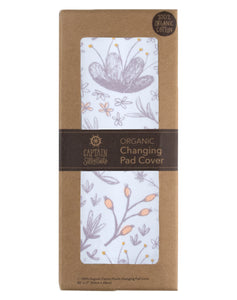 Blushing Blossom Changing Pad Cover