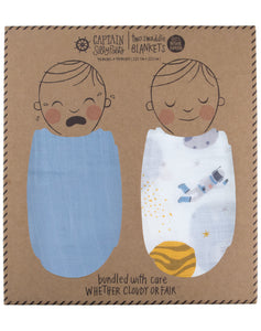 Galaxy Swaddle Set