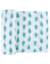 Load image into Gallery viewer, Tropical Rainforest Double Swaddle Set