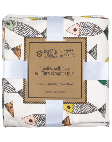 *PRE ORDER* Catch and Release Triple Layer Blanket