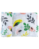 Tropical Bird Single Swaddle