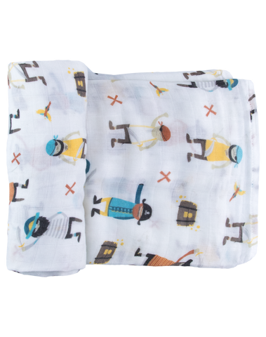 Pirate Booty Single Swaddle