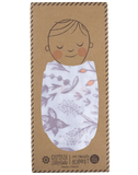 Blushing Blossoms Single Swaddle