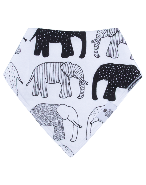 Tusks & Trunks Bandana Bib