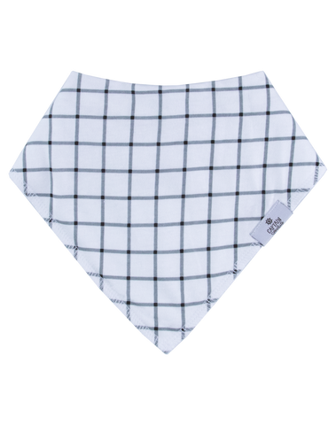 Plaid Bandana Bib