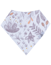 Load image into Gallery viewer, Blushing Blossom Bandana Bib