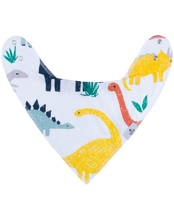 Load image into Gallery viewer, Dinosaur Bandana Bib