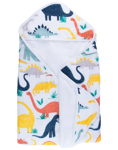 Dinosaur Hooded Towel