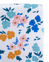 Load image into Gallery viewer, Summer Floral Changing Pad Cover