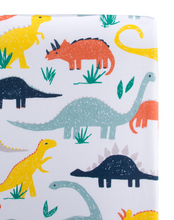 Load image into Gallery viewer, Dino Changing Pad Cover
