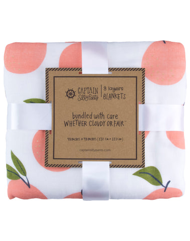 *PRE ORDER* Peaches and Cream Triple Layer Blanket
