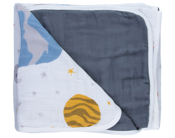 Galaxy Bamboo Triple-Layer Blanket