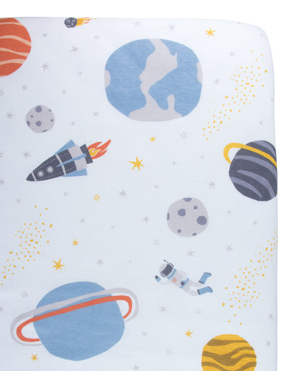 Galaxy Crib Sheet