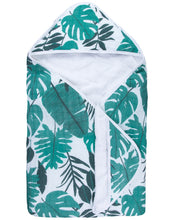 Load image into Gallery viewer, Palm Leaf Hooded Towel