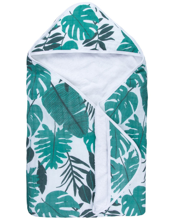 Palm Leaf Hooded Towel