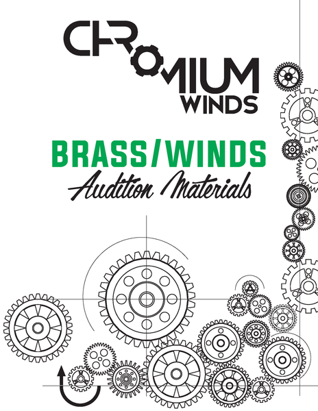 2017 CHROMIUM AUDITION MATERIALS