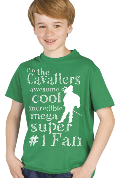 Kids Cavalier Fan Short Sleeve Shirt