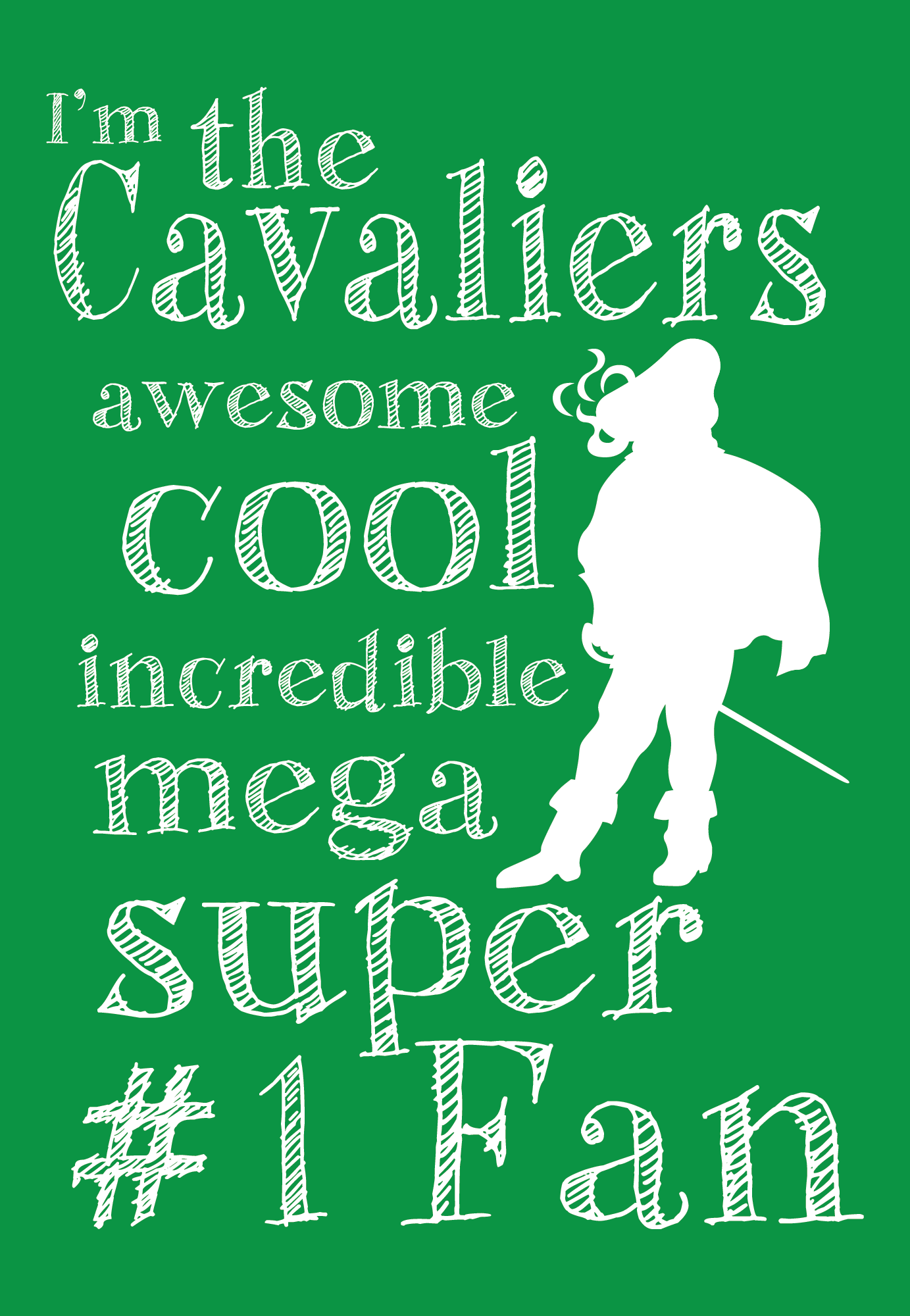 Kids Cavalier Fan T (KELLY)
