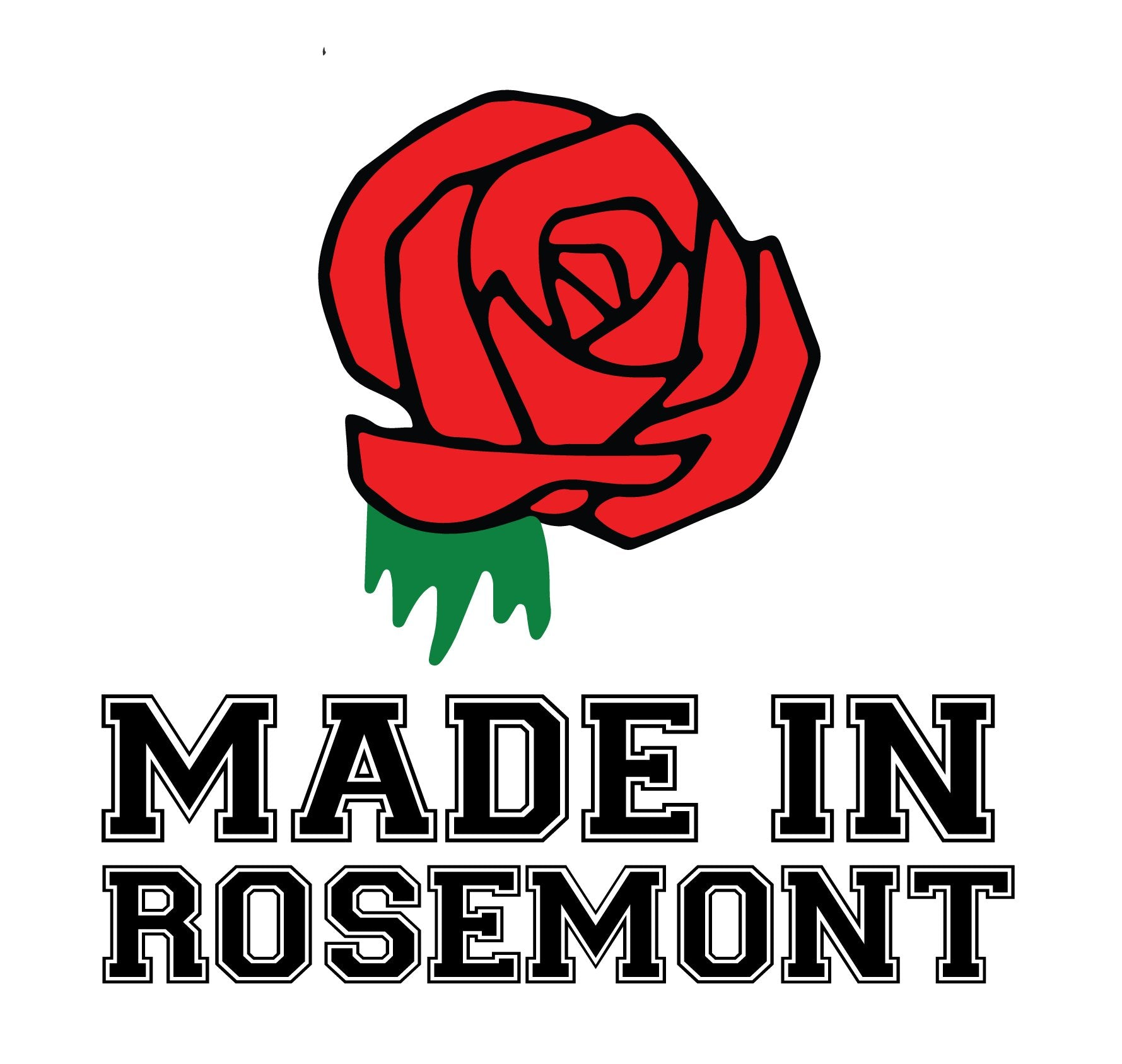 Made In Rosemont Baseball T
