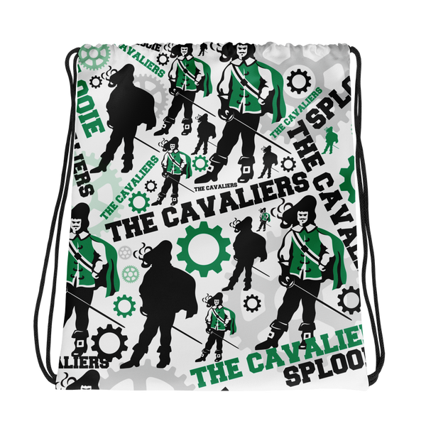 "Cavaliers ""All Over Print"" Drawstring bag"