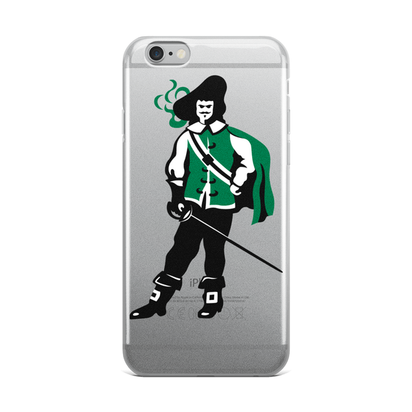 Classic Standing Man iPhone Case