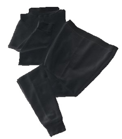 SFI 3.3 Black Fire Retardant Underwear Set