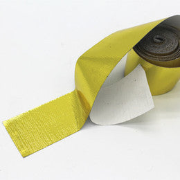 Self Adhesive Reflective Gold Heat Wrap tape