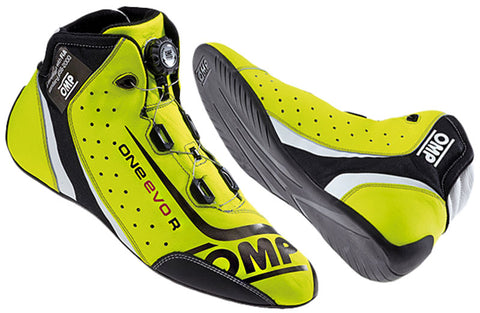 OMP One EVO R  Pro Race boots