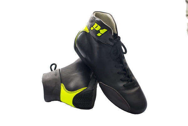 P1 Monza Leather FIA race Boots
