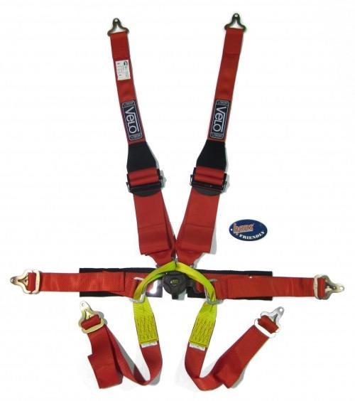 Velo FIA 6 Point Formula HANS Specific Harness