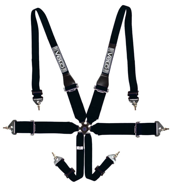 Velo FIA 6 Point Magnum HANS Specific Harness