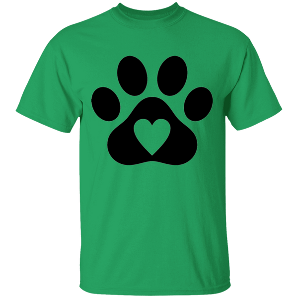 Heart Paw - Mens T-Shirt - MeowOutlet.com