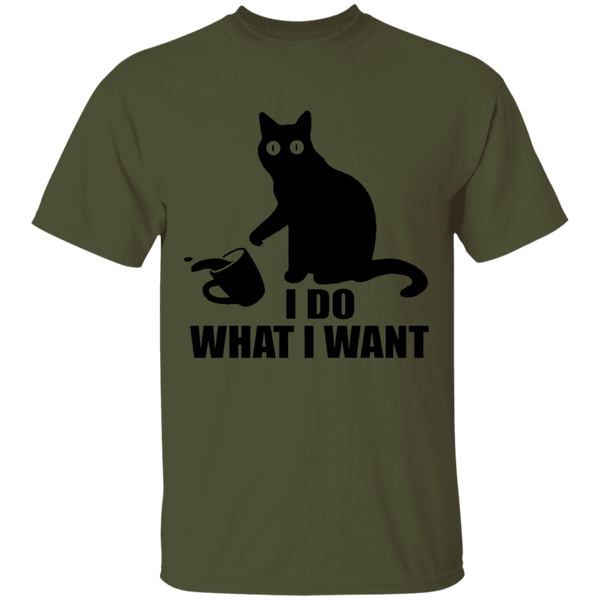 I Do What I Want - Mens T-Shirt - MeowOutlet.com