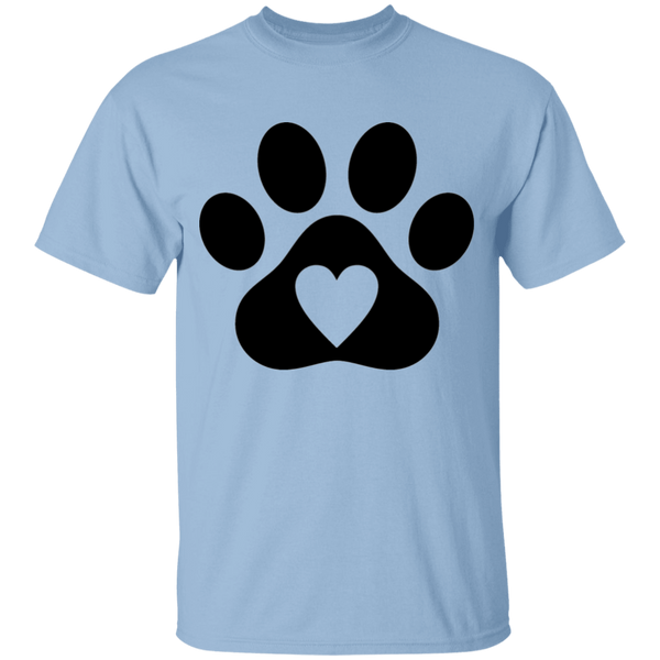 Heart Paw - Youth T-Shirt - MeowOutlet.com