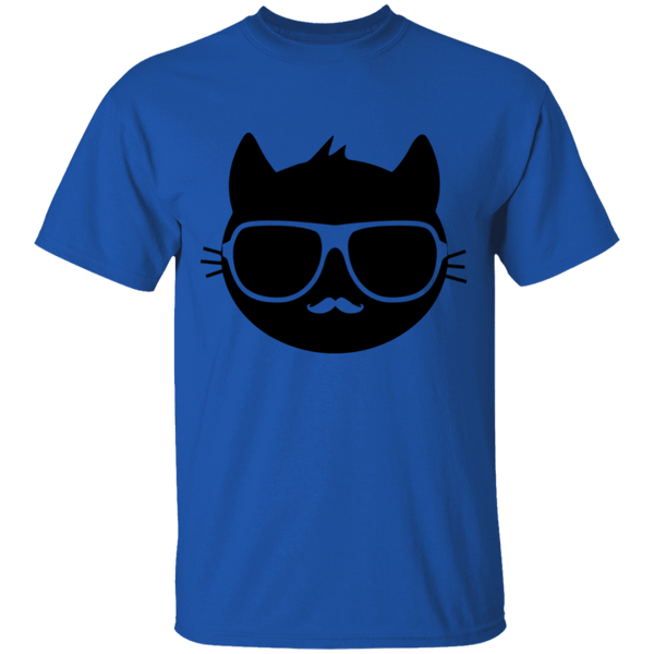 Cool Cat with Sunglasses - Mens T-Shirt - MeowOutlet.com