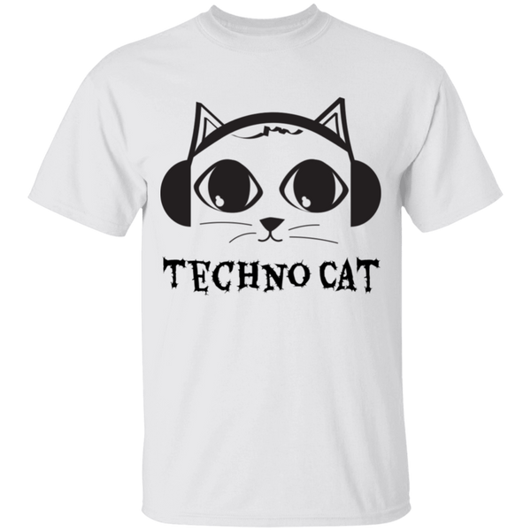 Techno Cat - Youth T-Shirt - MeowOutlet.com