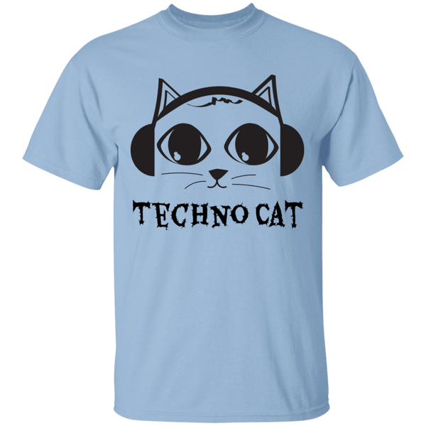 Techno Cat - Mens T-Shirt - MeowOutlet.com