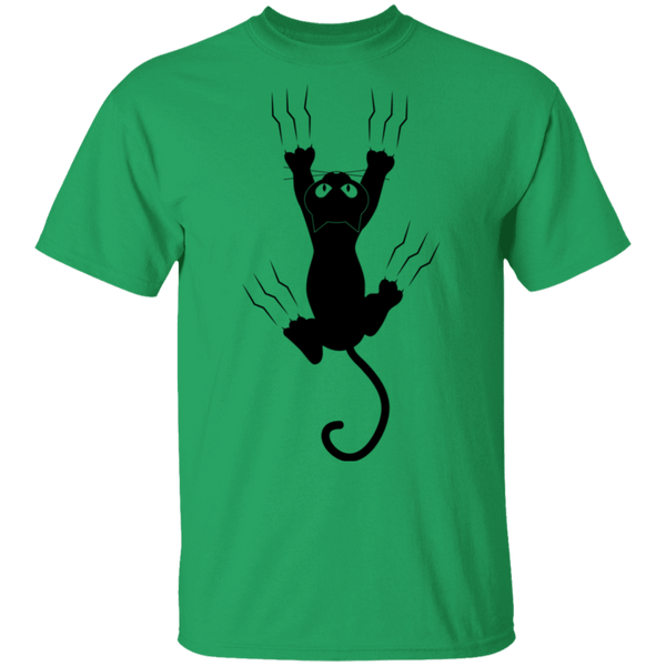 OUCH! Cat Scratch - Mens T-Shirt - MeowOutlet.com