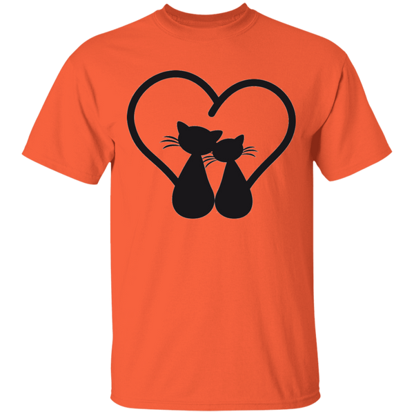 Cats in Love - Mens T-Shirt - MeowOutlet.com