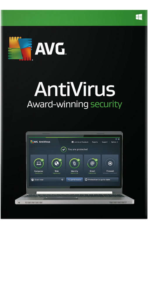 AVG AntiVirus 10 PC 1 Year