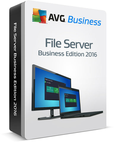 AVG File Server Edition 30 connections 3 Years