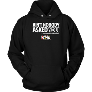 Ain't Nobody Asked You Hoodie