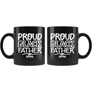 Proud Black Father 11oz Mug