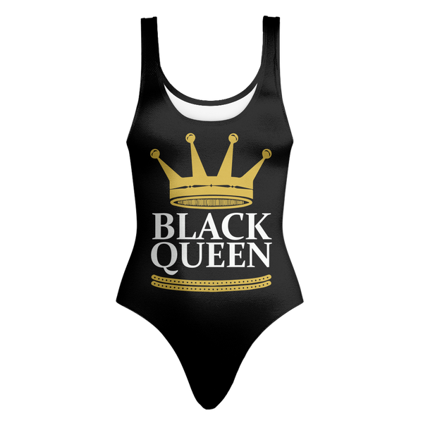 Black Queen One-Piece Swimsuit
