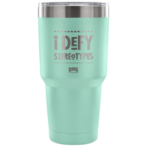 I Defy Stereotypes Premium Travel Mug