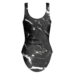 Melanin Stay Poppin Marble Swimsuit