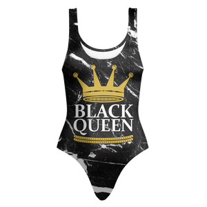 Black Queen Marble Swimsuit