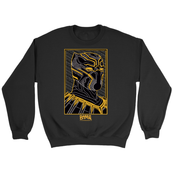 King of Wakanda Sweatshirt (Gold)