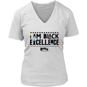 I am Black Excellence Tee (White)