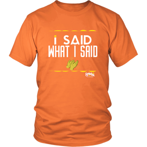 I Said What I Said T-shirt